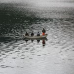 Four Scottish Men In A Boat